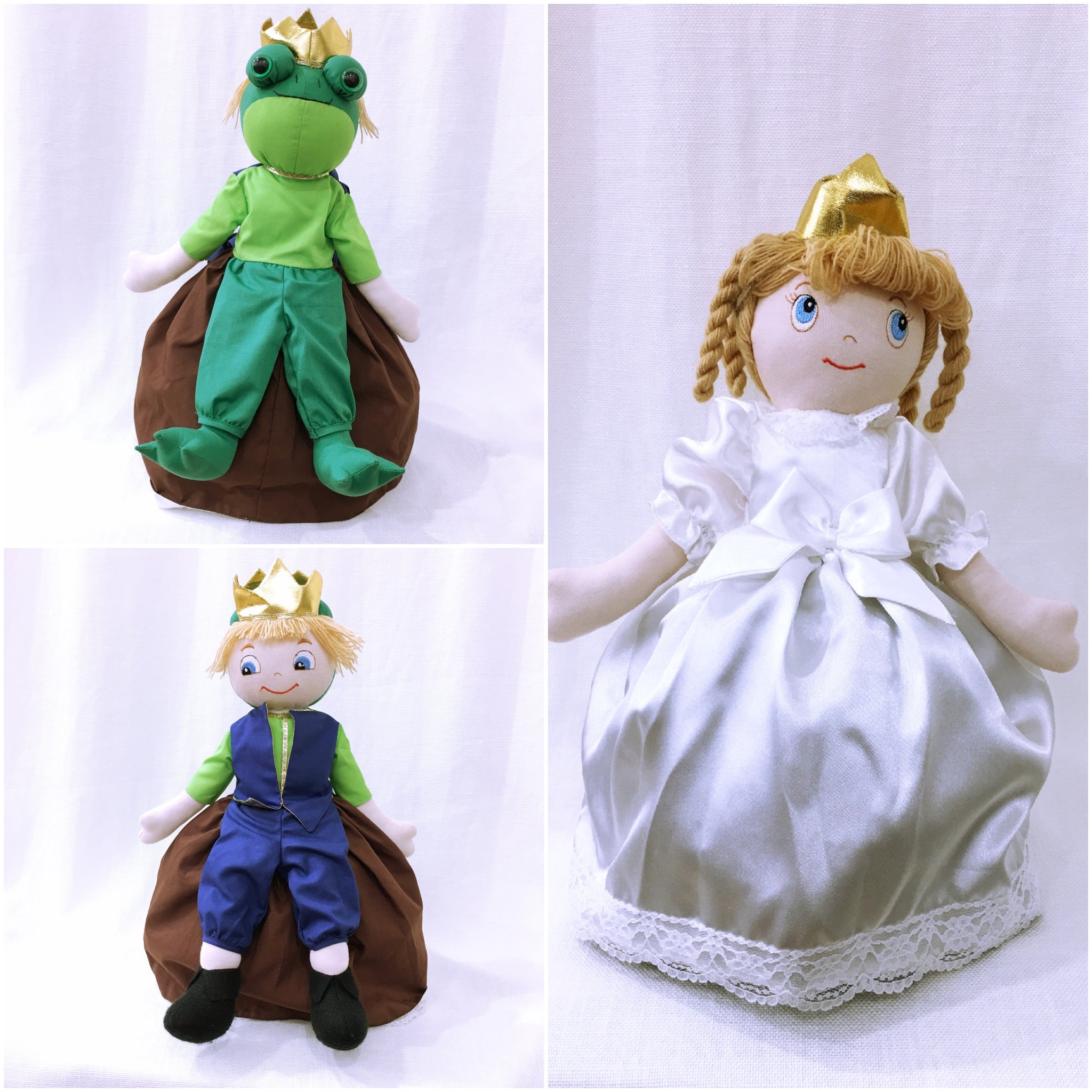 The Princess &The Frog Doll - Upside Down Toy Handmade in Thailand by the Fatima Centre | Shop Ethical Gifts for Children at ONLY JUST |