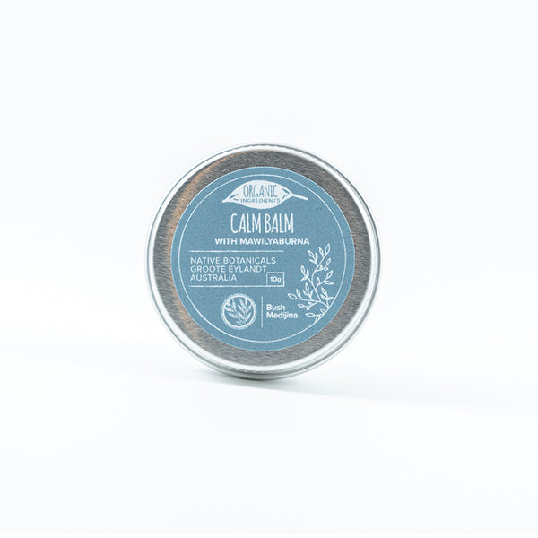 Bush Medijina calm balm 10 grams - Shop Fair trade, Ethically handmade, natural Australian skincare at ONLY JUST