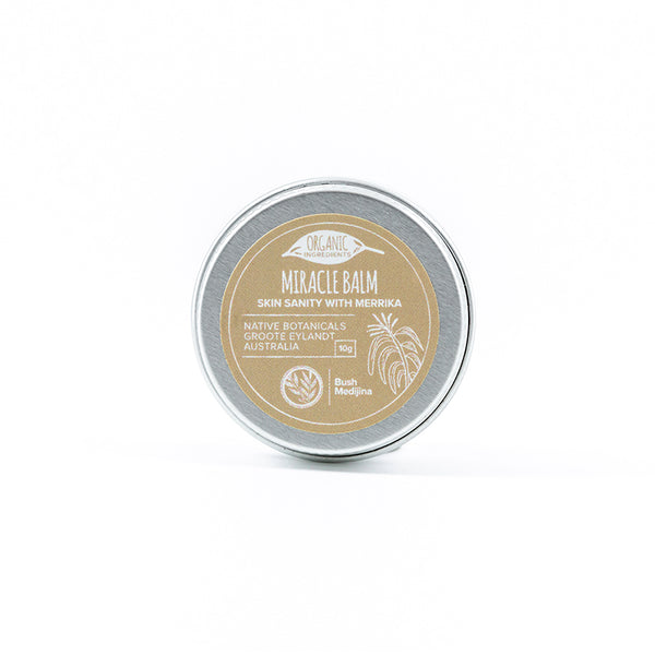 Bush Medijina miracle balm 10 grams - Shop Fair trade, Ethically handmade, natural Australian skincare at ONLY JUST