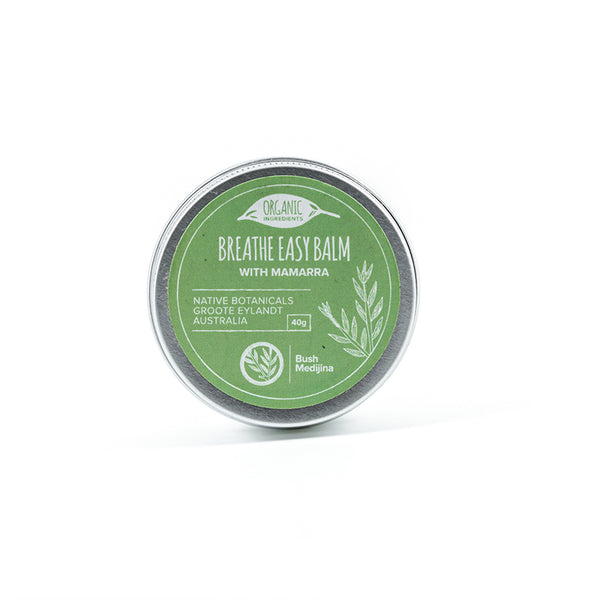 Bush Medijina breathe easy  body balm 40 grams - Shop Fair trade, Ethically handmade, natural Australian skincare at ONLY JUST