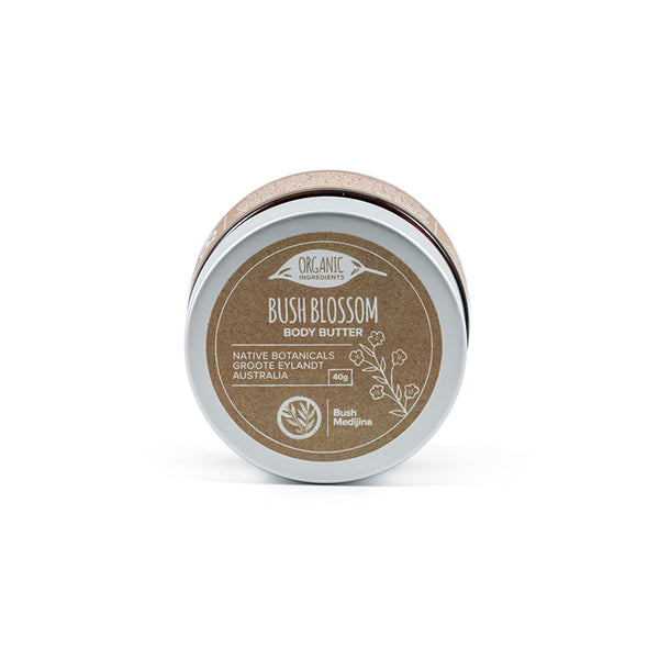 Bush Medijina bush blossom body butter open - Shop Fair trade, Ethically handmade, natural Australian skincare at ONLY JUST