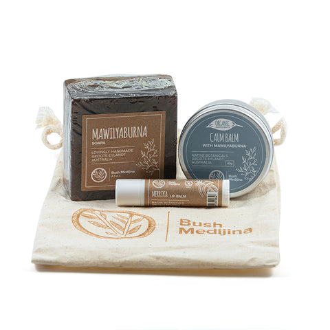 Bush medijina Fair Trade Gifts - Calming Gift Pack - Handmade Australian Natural Skincare - Supporting Indigenous Australian Business