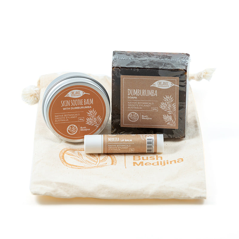 Bush medijina Fair Trade Gifts - Skin Soothing Gift Pack - Handmade Australian Natural Skincare - Supporting Indigenous Australian Business