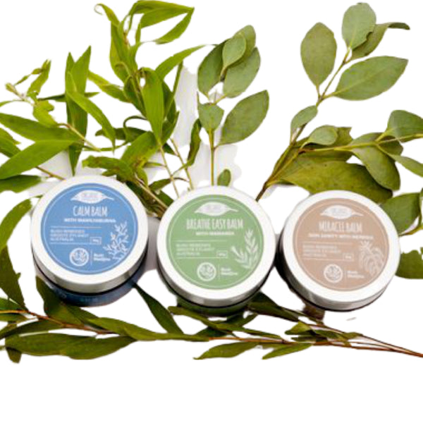 Bush Medijina body balm three pack - Shop Fair trade, Ethically handmade, natural Australian skincare at ONLY JUST