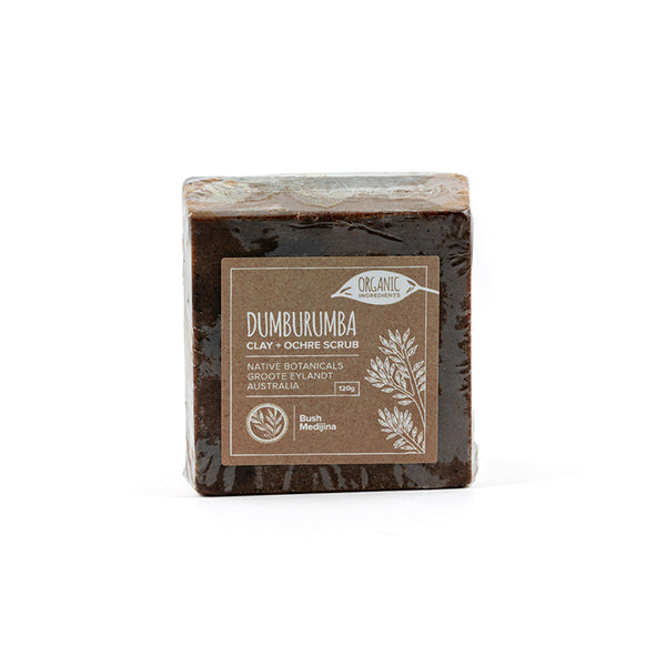Bush Medijina Dumburumba Clay & Ochre body scrub collection - Shop Fair trade, Ethically handmade, natural Australian skincare at ONLY JUST