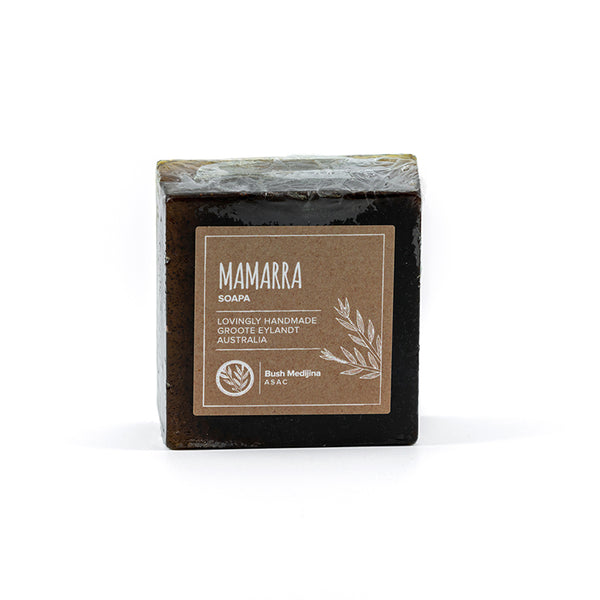 Bush Medijina soap mamarraBush medijina Fair Trade Gifts - Mamarra Soap Bar - Handmade Australian Natural Skincare - Supporting Indigenous Australian Business
