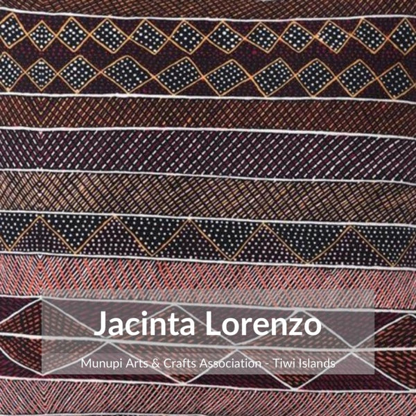 Alperstein Designs Aboriginal Art Print Table Runner design by Jacinta Lorenzo