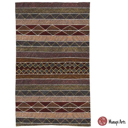 Alperstein Designs Aboriginal Art Print Tea Towel design by Jacinta Lorenzo