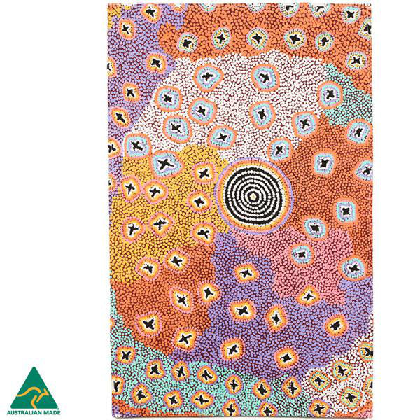 Alperstein Designs Aboriginal Art Print Tea Towel design by Ruth Stewart