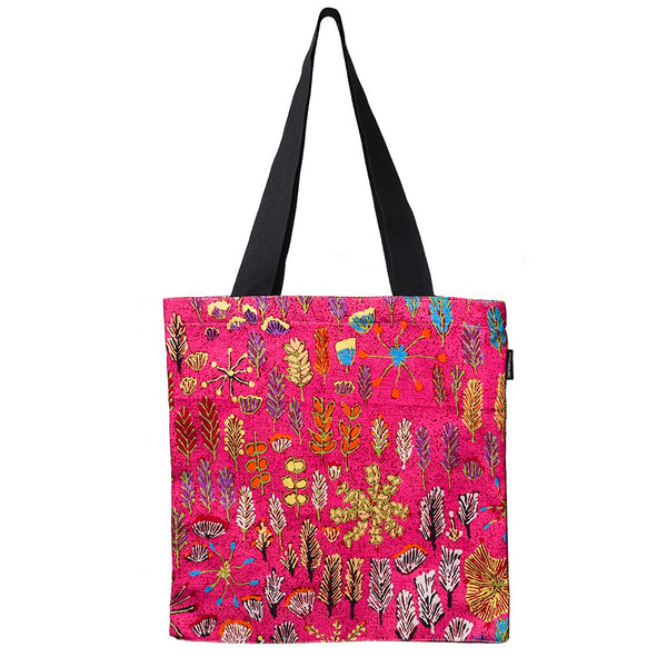 Alperstein Designs Fair Trade Gifts - Aboriginal Art Print Tote Bag design by Artist Betty Morton