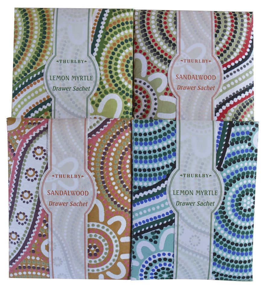 Thurlby Drawer Sachet - Bush Blend Kinjarran, India / Australia