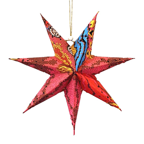 Better World Arts Handmade Paper Star - Australia