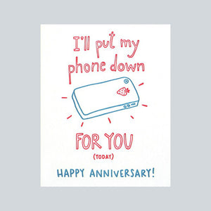 Good Paper Handprinted Greeting Card - Wedding / Anniversary, Philippines