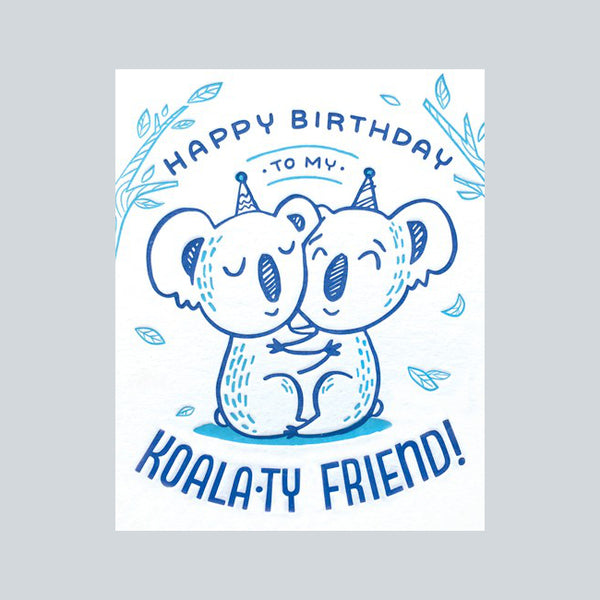 Good Paper Handprinted Greeting Card - Birthday, Philippines