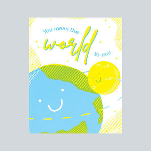 Good Paper Handprinted Greeting Card - Love, Philippines