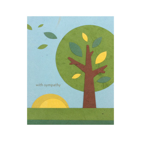 Good Paper Handmade Greeting Card - Sympathy, Philippines