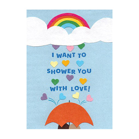 Good Paper Greeting Card - Love, Rwanda