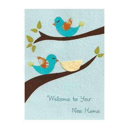 Good Paper Greeting Card - Moving, Rwanda