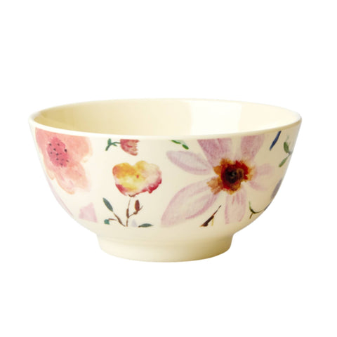 Rice Printed Melamine Medium Bowl - Thailand