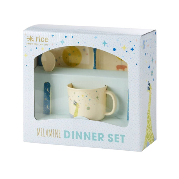 Rice Melamine Dinner Set - Thailand