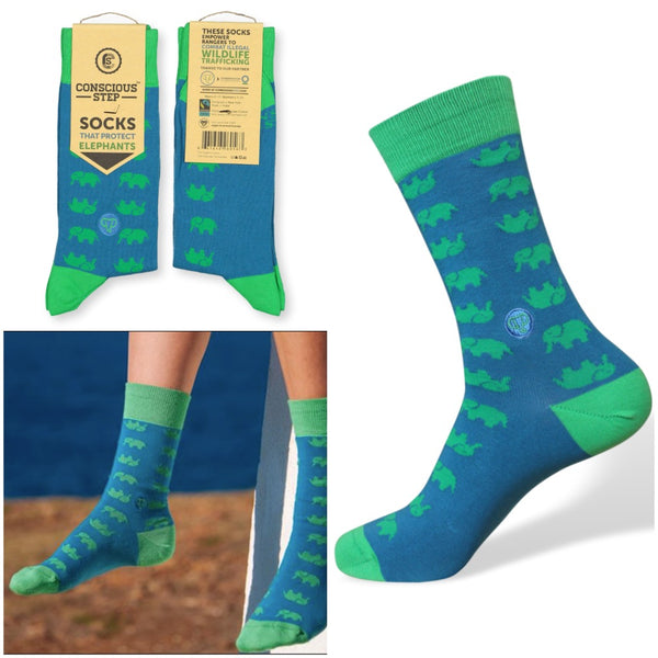 socks that protect elephants