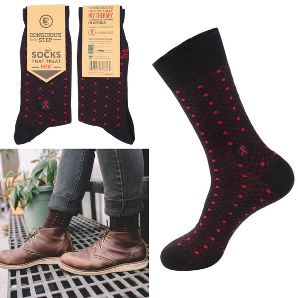 socks that treat HIV