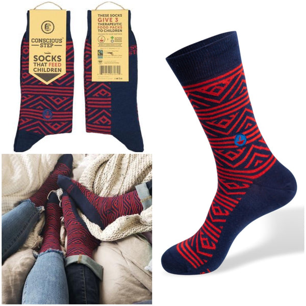 socks that feed children - tribal
