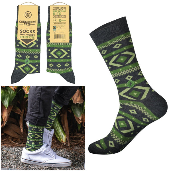 socks that provide relief kits - tribal