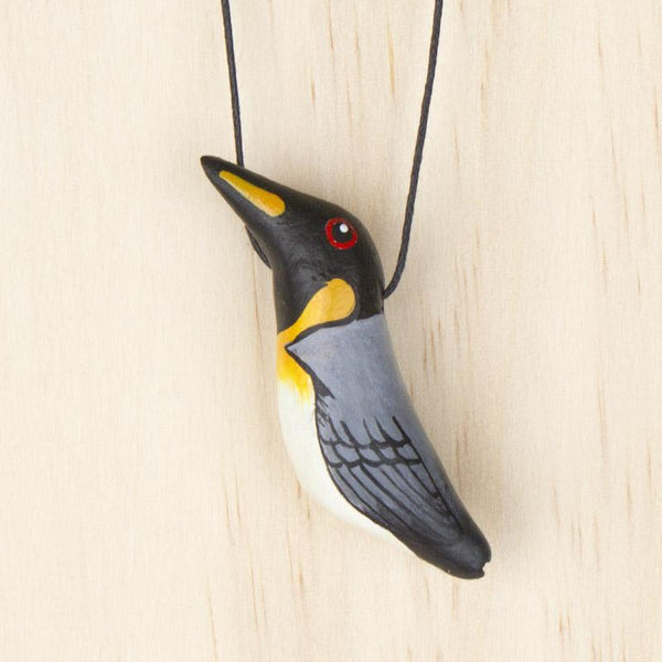 Songbird necklace penguin - Shop Fair Trade, Handmade, Ethical Gifts & Jewellery Australia at ONLY JUST.