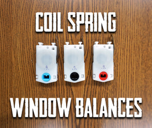 Coil Spring Window Balances