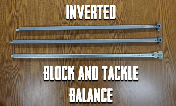 Inverted Block & Tackle Balances