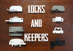 Window Sweep Locks and Keepers