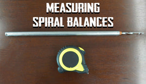 How to Measure Spiral Window Balances