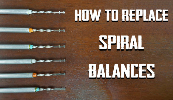 How to Replace Spiral Window Balances
