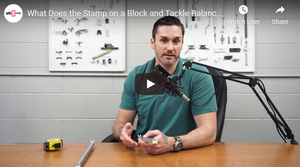 What Does the Stamp on a Block and Tackle Window Balance Mean