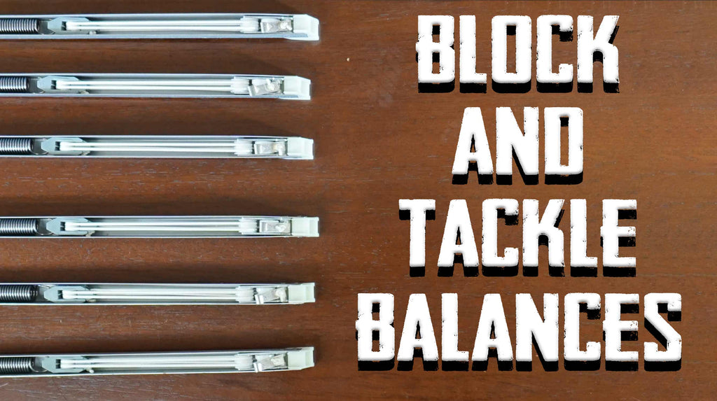 Block and Tackle Window Balances
