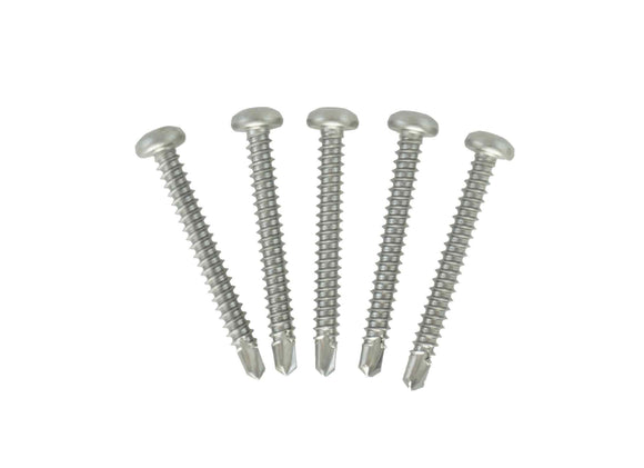 Square Drive Self Drilling Stainless Steel Screws - #8 x 1-1/2