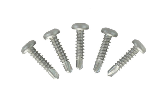 011-8-3_4-M Square Drive Self Drilling Stainless Steel Screws - #8 x 3/4