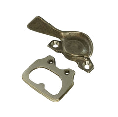 02-40 WRS White Bronze Sweep Lock & Keeper Set