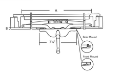 022-27 Truth Hardware Scissor Arm Awning Operator Diagram