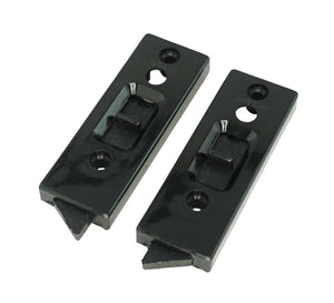 "WRS 2"" Black Tilt Latch Set"