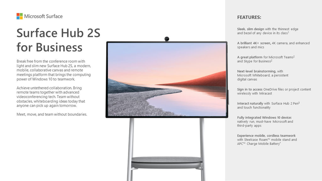 Surface Hub 2S for Business - ITontology