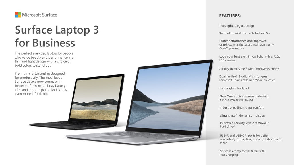 Surface Laptop 3 for Business - ITontology