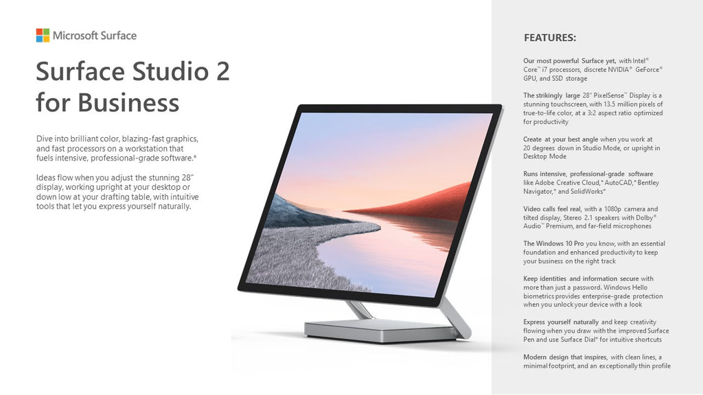 Surface Studio 2 for Business - ITontology
