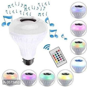 Music Bulb With Bluetooth Speaker Light Bulb Colorful Lamp for Home