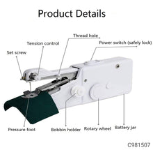 Load image into Gallery viewer, Electric Handled Sewing Machine - Easy Sewing Machine