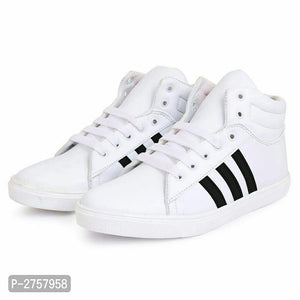 White stylish Sneaker Shoes for Boys