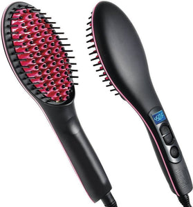 Best Quality Simply Hair Straightener Brush For Super Curly and Wavy Hair