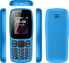 Load image into Gallery viewer, I Kall K14 Sky Blue Dual SIM Feature Phone