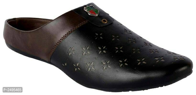 Stylish Slip-On Casual Black Colour Shoes For Men